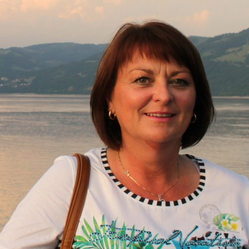 Reiseleder Tone Mjøberg på Donau