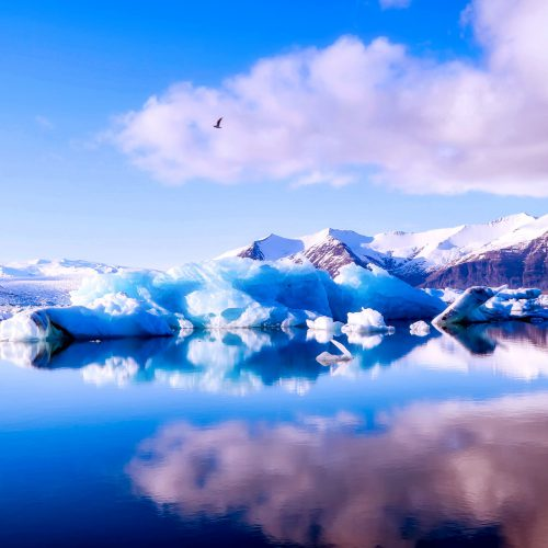Landskapsbilde Island