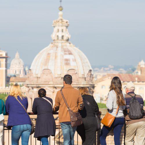Turister i Roma, Italia