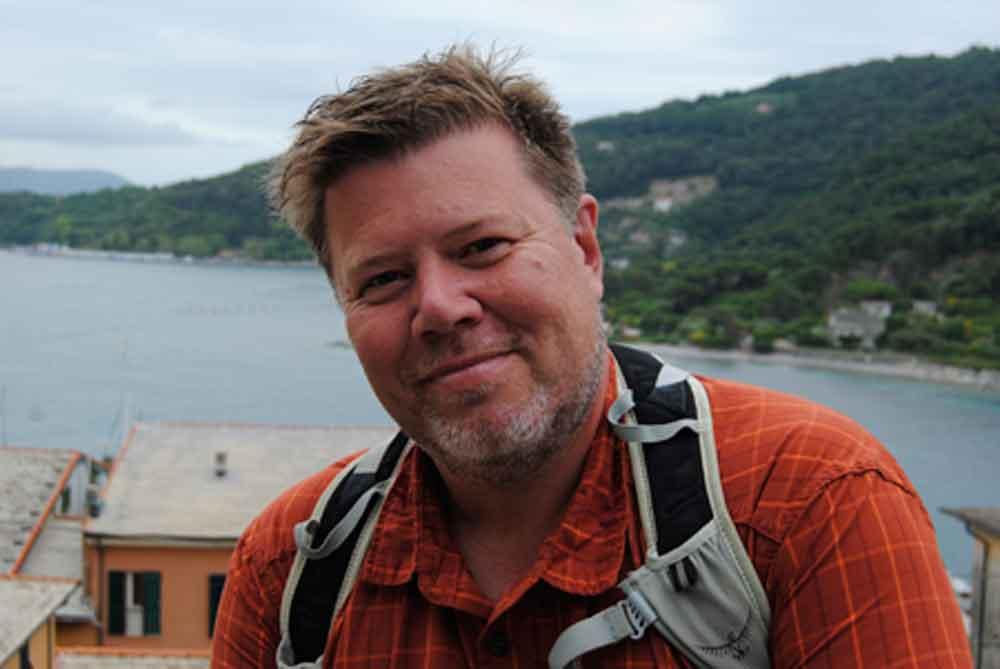 Reiseleder Morten Bille