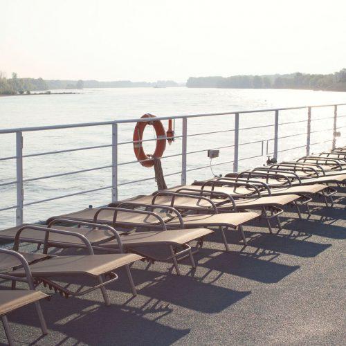 Soldekk på Der Kleine Prinz, Donau