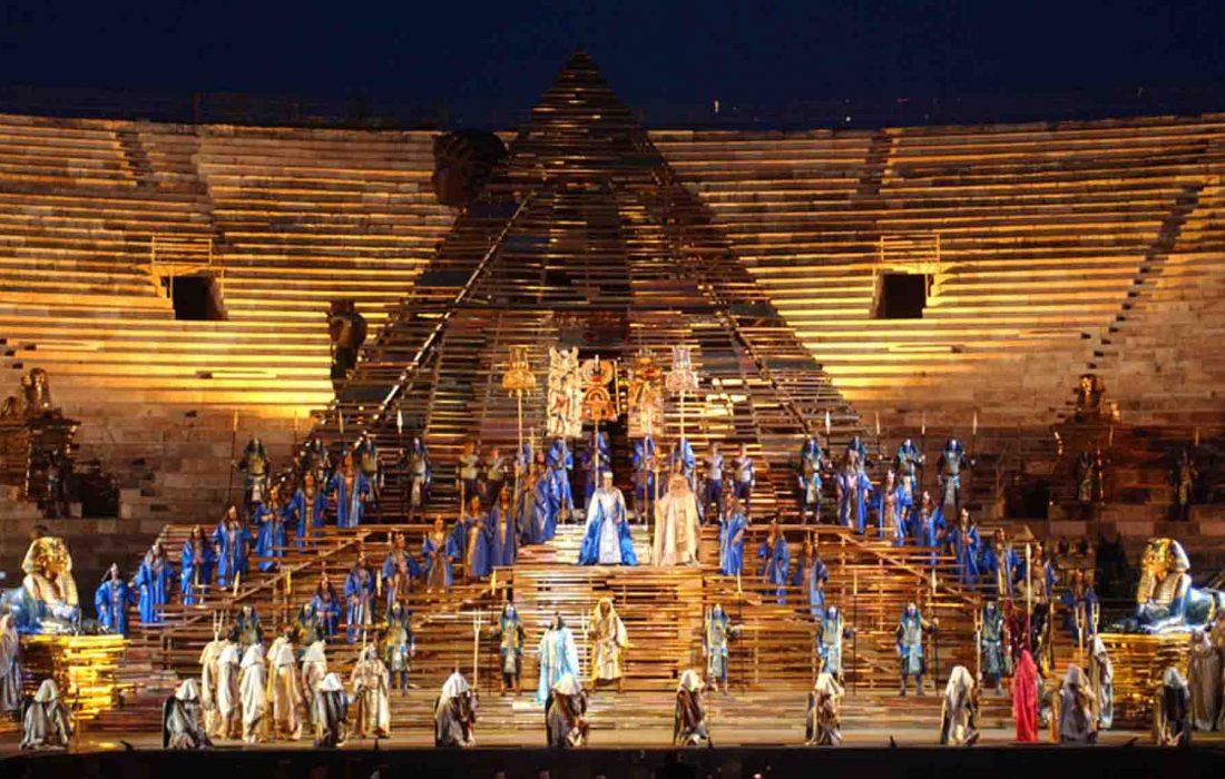 Opera Aida i Verona